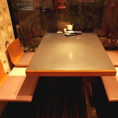 プライベート飲み会に最適♪半個室なので落ち着いて食事が楽しめます♪