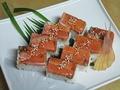 料理メニュー写真鮭の押し寿司