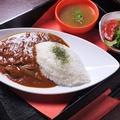 料理メニュー写真松花堂特製ハヤシライス(サラダ・スープ・ワンドリンク付)
