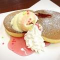 料理メニュー写真ホットケーキ 『桜』