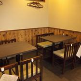 広々としたテーブルは小宴会やプライベート宴会にぜひご利用ください。