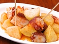 料理メニュー写真タコのガリシア風