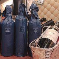 記念日やお祝いにも◎お肉に合う高級ワインもご提供可