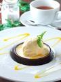 料理メニュー写真ココナッツのブラマンジェ