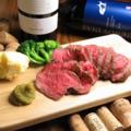 料理メニュー写真自家製ローストビーフ S