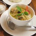 料理メニュー写真ゲンキョーワンガイ (鶏肉のグリーンカレー)