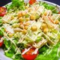 料理メニュー写真ささみとアボカドサラダ