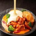 料理メニュー写真韓国料理とチーズの新定番 パネチキン(1人前)