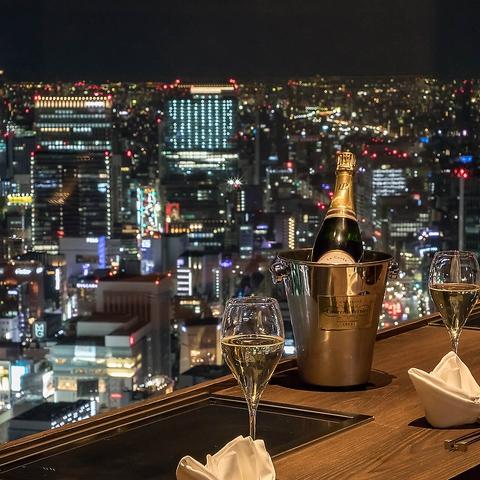 【汐留駅徒歩約1分】ソムリエが厳選したワインとともに愉しむ 鉄板和食
