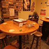 わいわいハイテーブル席はチョイ飲みからパーティー利用まで可♪泡ワイン、ビールなどハイテーブル価格をご用意しております!