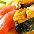 料理メニュー写真寿司大皿特上盛 (3人前)