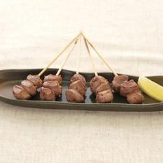 料理メニュー写真すなぎも串【塩/タレ】 ひとくちサイズ各5本