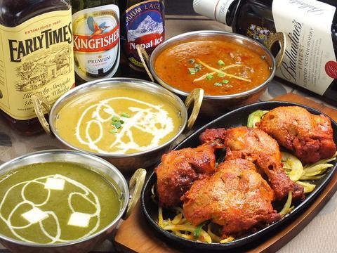 逗子駅徒歩4分の本格インドレストラン◎本場インド料理をお手軽に♪