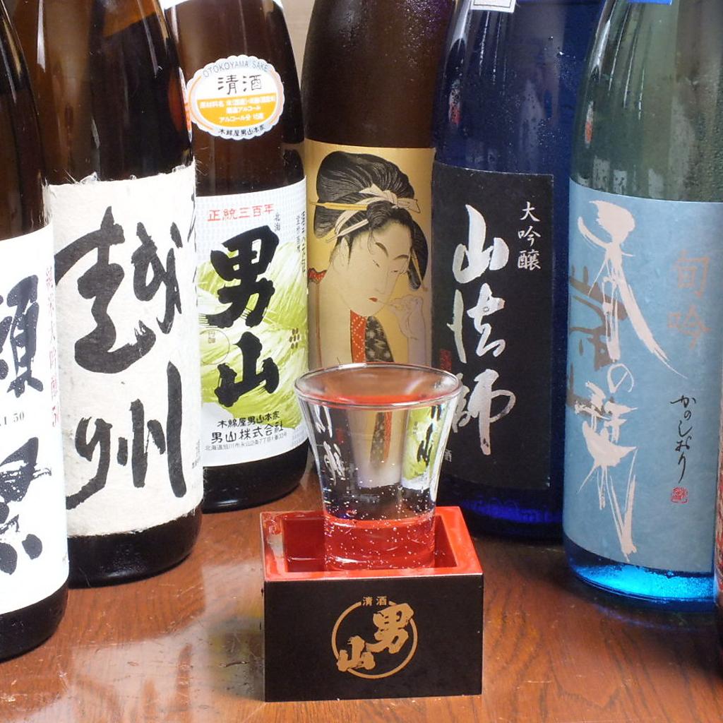 道内外の日本酒・焼酎を仕入れております。焼鳥をつまみに銘酒を飲み比べてみて下さい☆