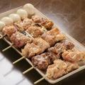 料理メニュー写真鶏もも・ねぎま豚ハラミ