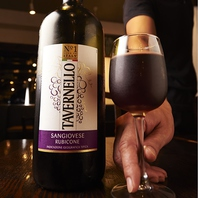 グラスワインが10種類以上♪ボトルの種類も豊富★