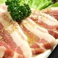 料理メニュー写真紀州岩清水豚カルビ