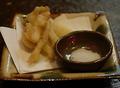 料理メニュー写真【希少品】島らっきょのてんぷら
