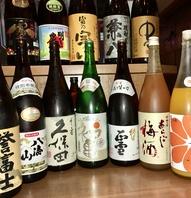【地酒も本格焼酎もプレミアム果実酒も飲み放に!】