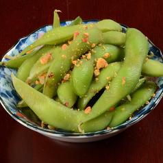にんにくとカシューナッツの枝豆