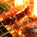 料理メニュー写真●特選 焼き鳥串のおまかせ 5本盛り合わせ(塩・タレ)