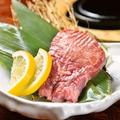 料理メニュー写真厚切り仙台牛タンのお好み石焼