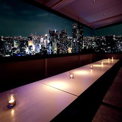 銀座 Sky Hills Dining 空中庭園の写真