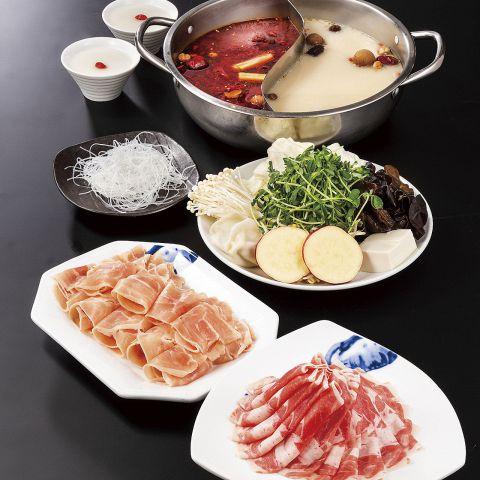 【バリューコース】肉ときのこを中心としたお得なセット盛り!シンプルコース