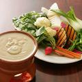 料理メニュー写真農園旬野菜のバーニャカウダ