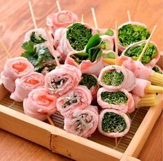野菜巻き串 ぐるりくるり 石垣島のおすすめ料理1