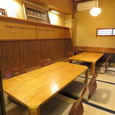 8名様個室2部屋をご用意でき、大人数、少人数どちらのご利用にもご対応可能です。