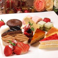 デザート食べ放題!フォンダンショコラやミルクレープ!