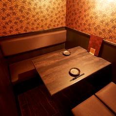 2名個室…カップルシートです♪