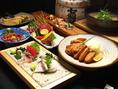 宴会コースは九州郷土料理の数々を満足度高く楽しめる内容となっています。