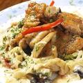 料理メニュー写真鶏肉ときのこのクリーム煮