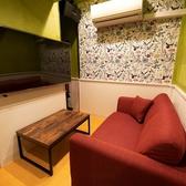 2~3名部屋もあります☆中にはカップルに最適なおしゃれなお部屋もございます■プライベート空間としてお一人様でのご利用も多数ございます。