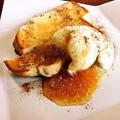料理メニュー写真アップルシナモントースト