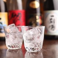 焼酎や日本酒も楽しめるプレミアム飲み放題もご用意