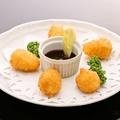 料理メニュー写真カマンベールチーズのフライ