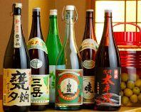 焼酎・日本酒も充実!