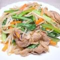 料理メニュー写真肉野菜炒め