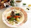 料理メニュー写真黒毛和牛テールと房州産野菜のポトフー