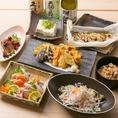 ■雅-Miyabi-■天菜自慢の人気No.1コース【2時間飲み放題付き7品3480円】和の趣き溢れる個室でゆったり宴会を。旬な食材をふんだんに使用した料理長渾身の和食がメインのコースです。旬の食材を使用するため内容は季節により異なります。
