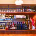 【豊富なカクテル&ウィスキー】数十種類のリキュールやウィスキーをご用意しております♪メニューに無いカクテルなど、わがままオーダーも喜んでお作り致します!!