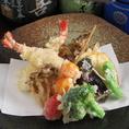 食材に拘った天ぷらもおススメです。