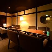 2Fテーブル席は8名~貸切個室へ。リラックス出来るオシャレで落ち着いた空間のお部屋です。ご予約はお早めに。