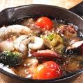 料理メニュー写真新鮮魚介のアヒージョ