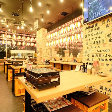濱焼北海道魚萬 旭川2条通店の雰囲気1
