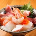料理メニュー写真魚楽まかない丼(数量限定)/海鮮丼/鉄火丼