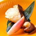 料理メニュー写真ナカモの西京味噌で漬けた銀鱈の西京味噌酒粕漬の炙り焼き